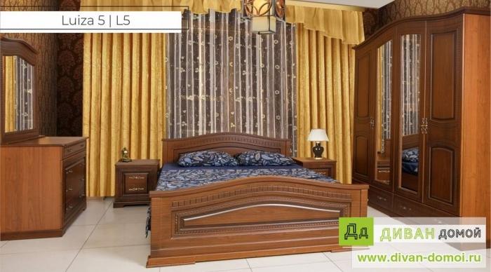 Спальный гарнитур Луиза 5, L5
