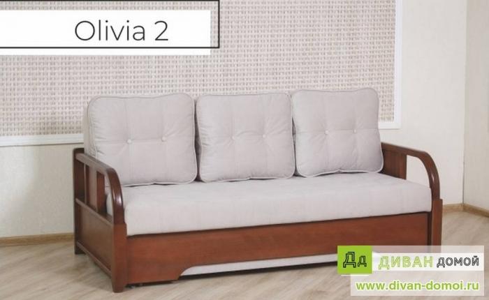 Диван кровать Оливия 1, 2