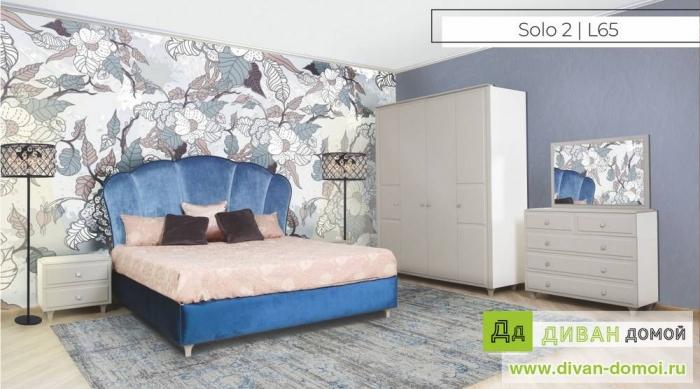 Спальный гарнитур  Соло 1,2 L65